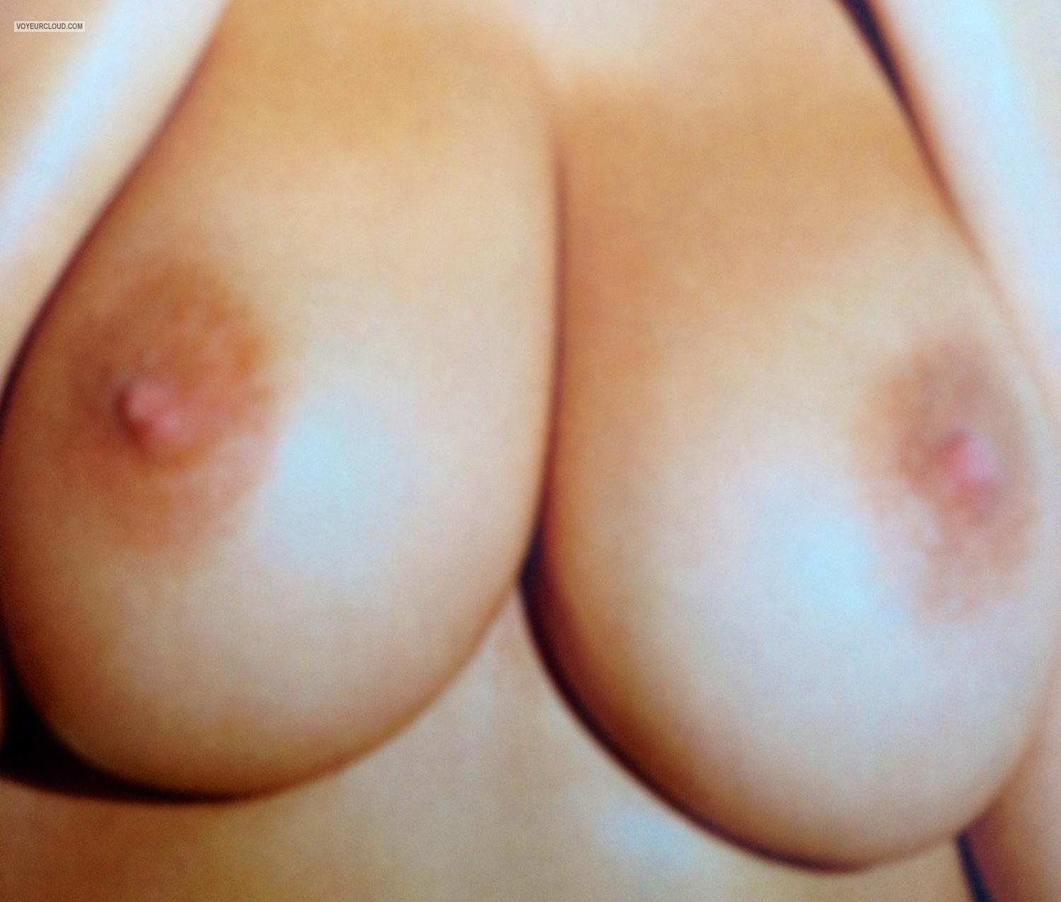 Tit Flash: Big Tits By IPhone - Jane from Canada