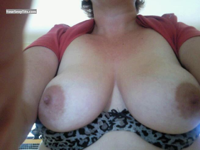 My Big Tits Selfie by Luv My DD's