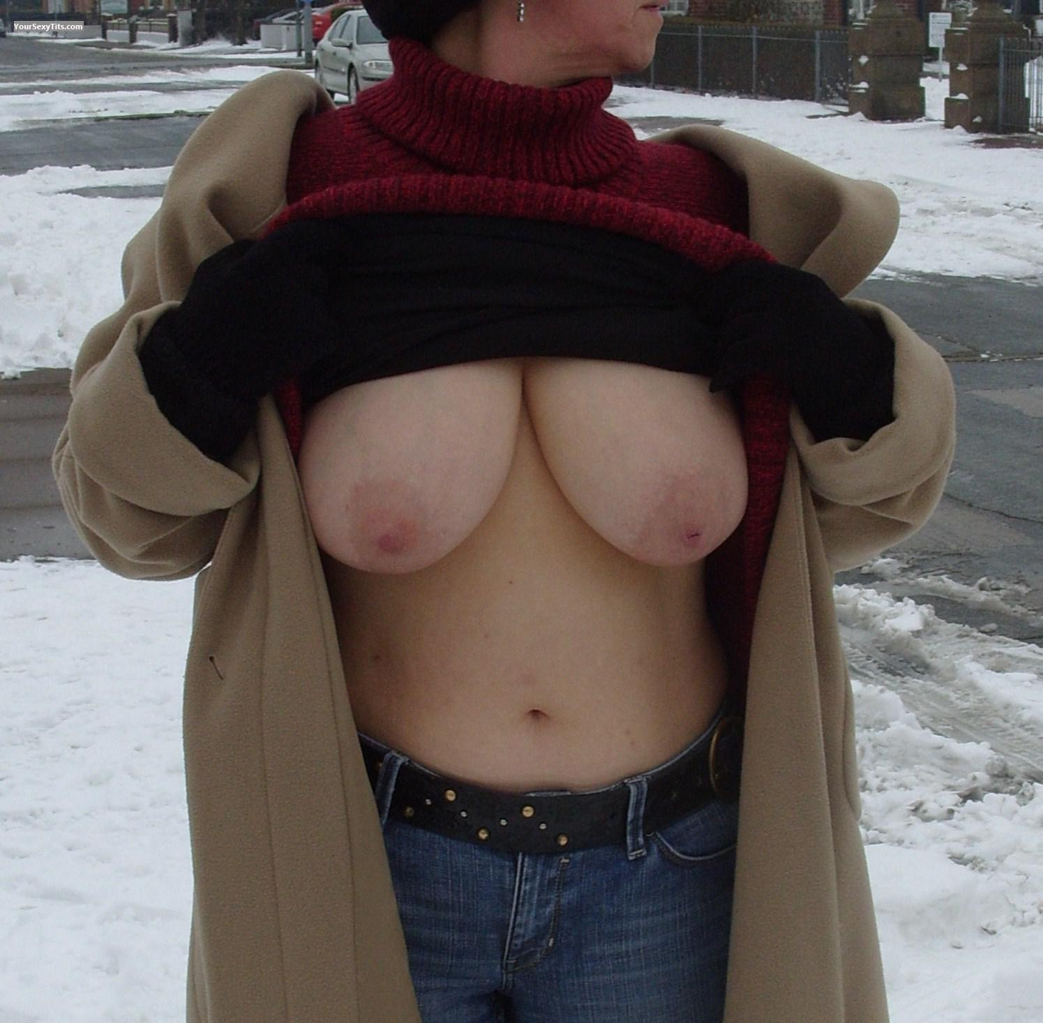 Ex girlfriend breasts