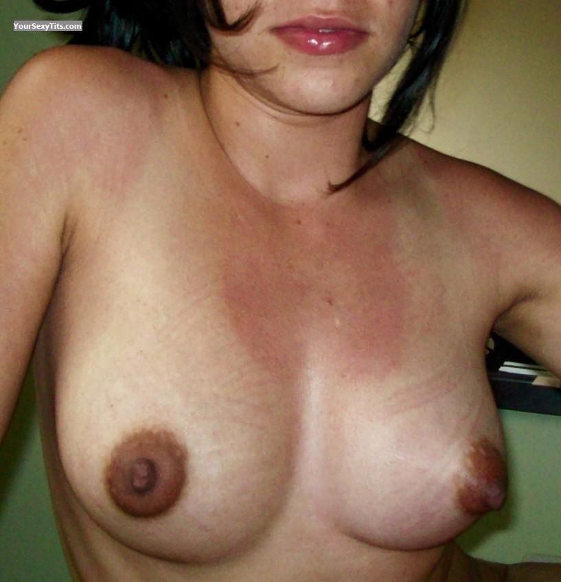 Tit Flash: Big Tits - Maria from Colombia