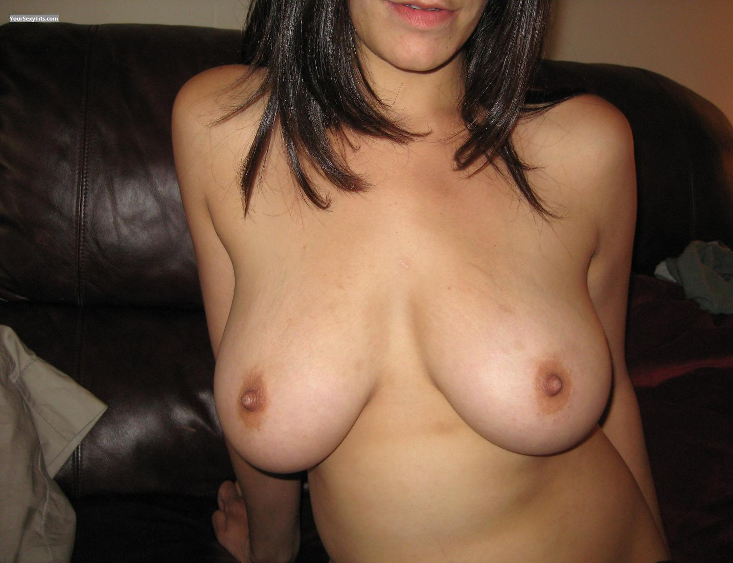Tit Flash: Big Tits - Mika from Canada