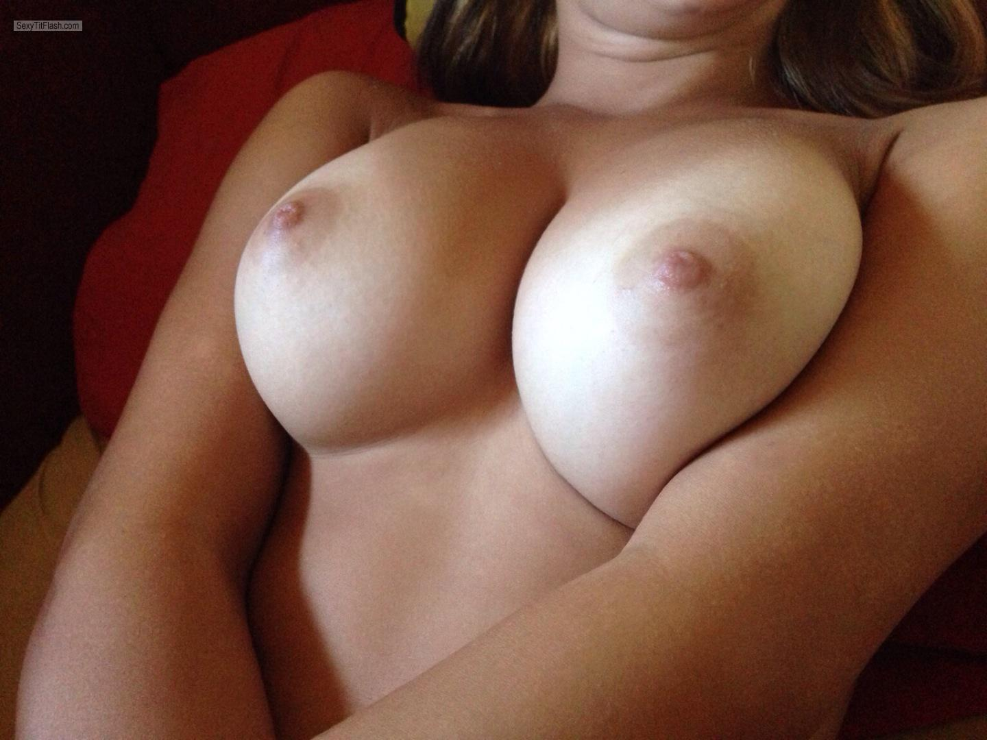 Tit Flash: My Big Tits - Naomi from United Kingdom