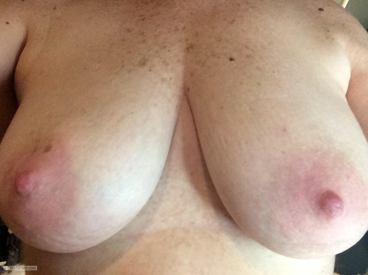 Big Tits Of My Wife Selfie by Wife That Fucks Like An Anim