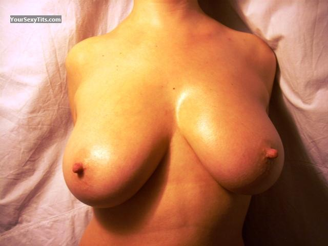 Tit Flash: Big Tits - Aly from Italy
