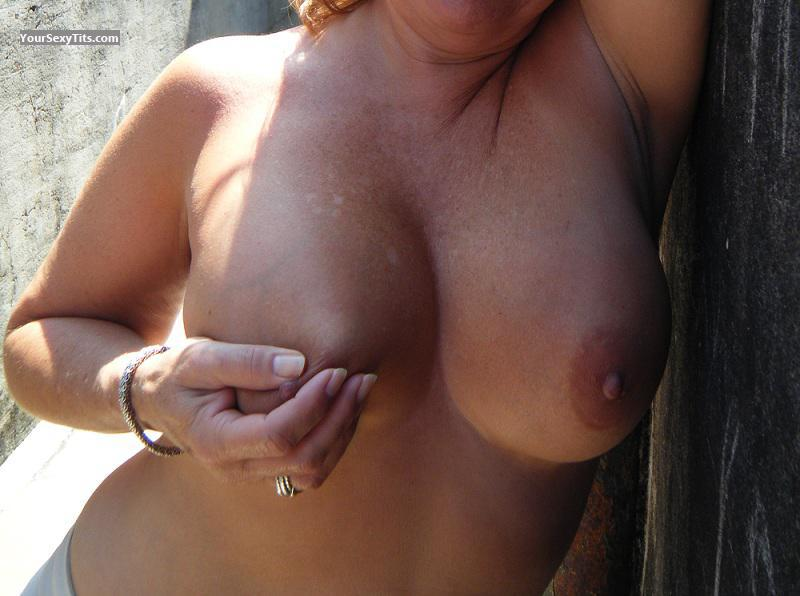 Tit Flash: My Big Tits - Wild Out Of Town from United States