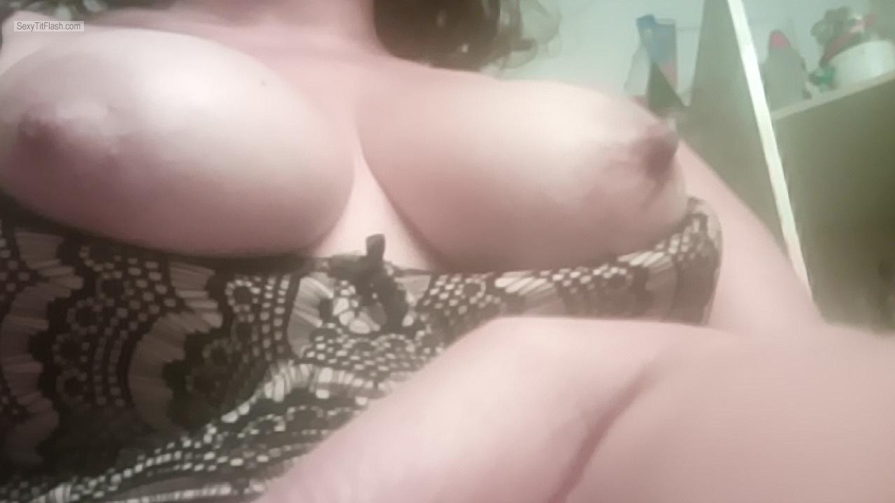 My Big Tits Selfie by Hornyhousewife