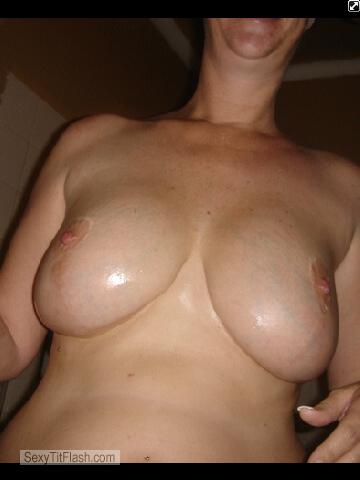 Tit Flash: Wife's Big Tits - Lovetit from United States