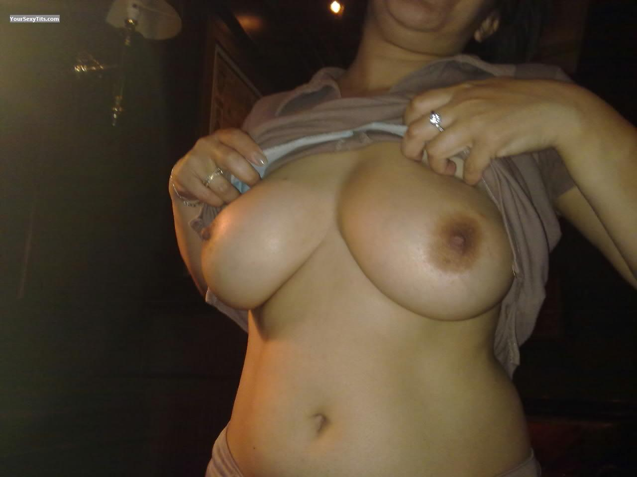 Tit Flash: Big Tits - Zinzin from France