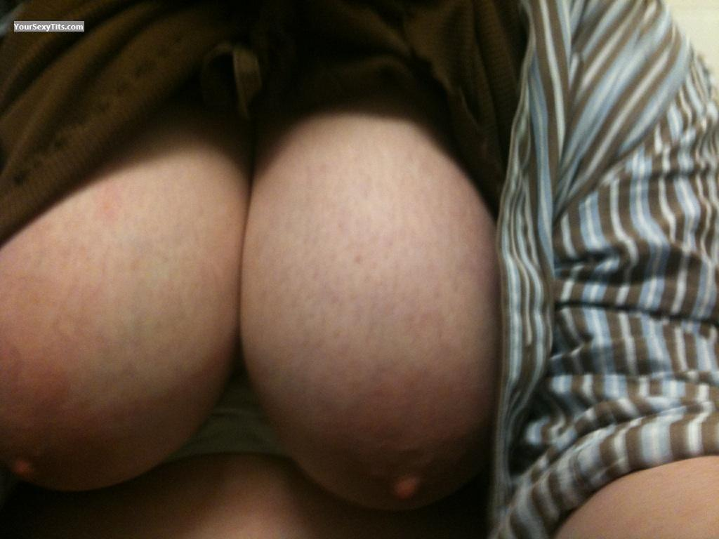 Tit Flash: My Big Tits (Selfie) - B from United States