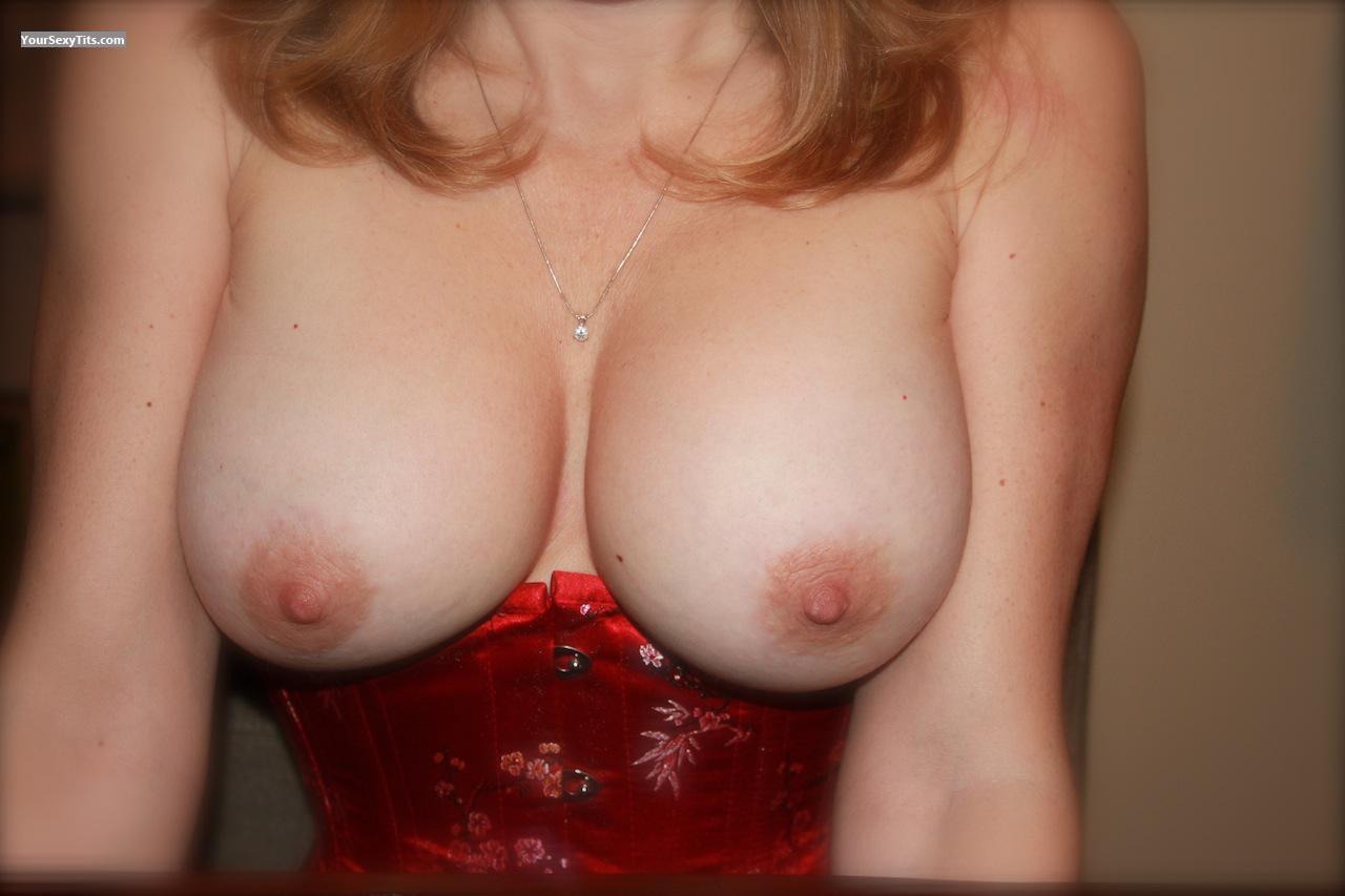 Tit Flash: Wife's Big Tits - Renata from Canada