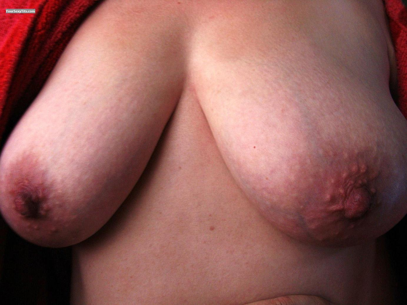 Tit Flash: Big Tits - Jaspis from Finland
