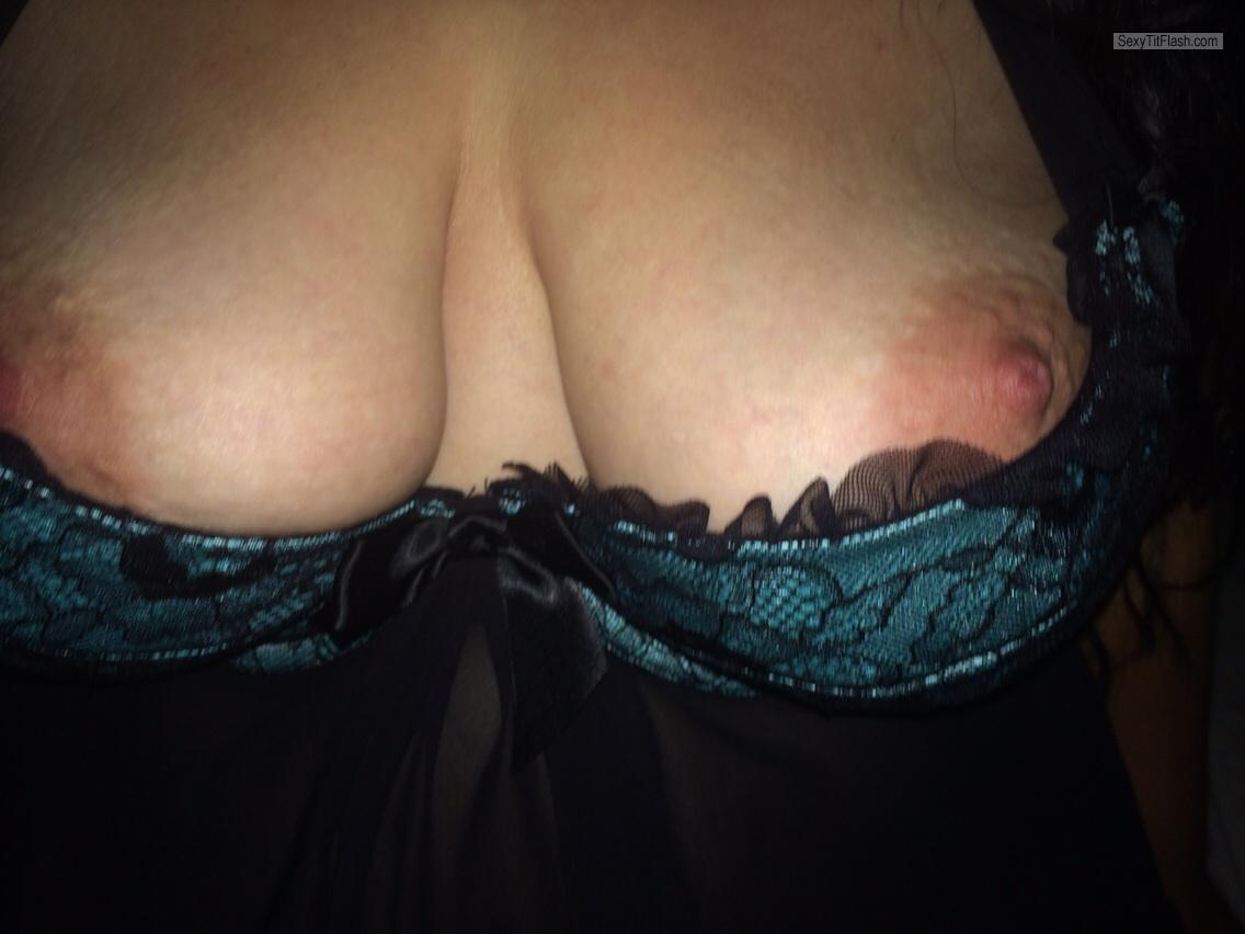 Tit Flash: My Big Tits (Selfie) - Honeybooby from United Kingdom