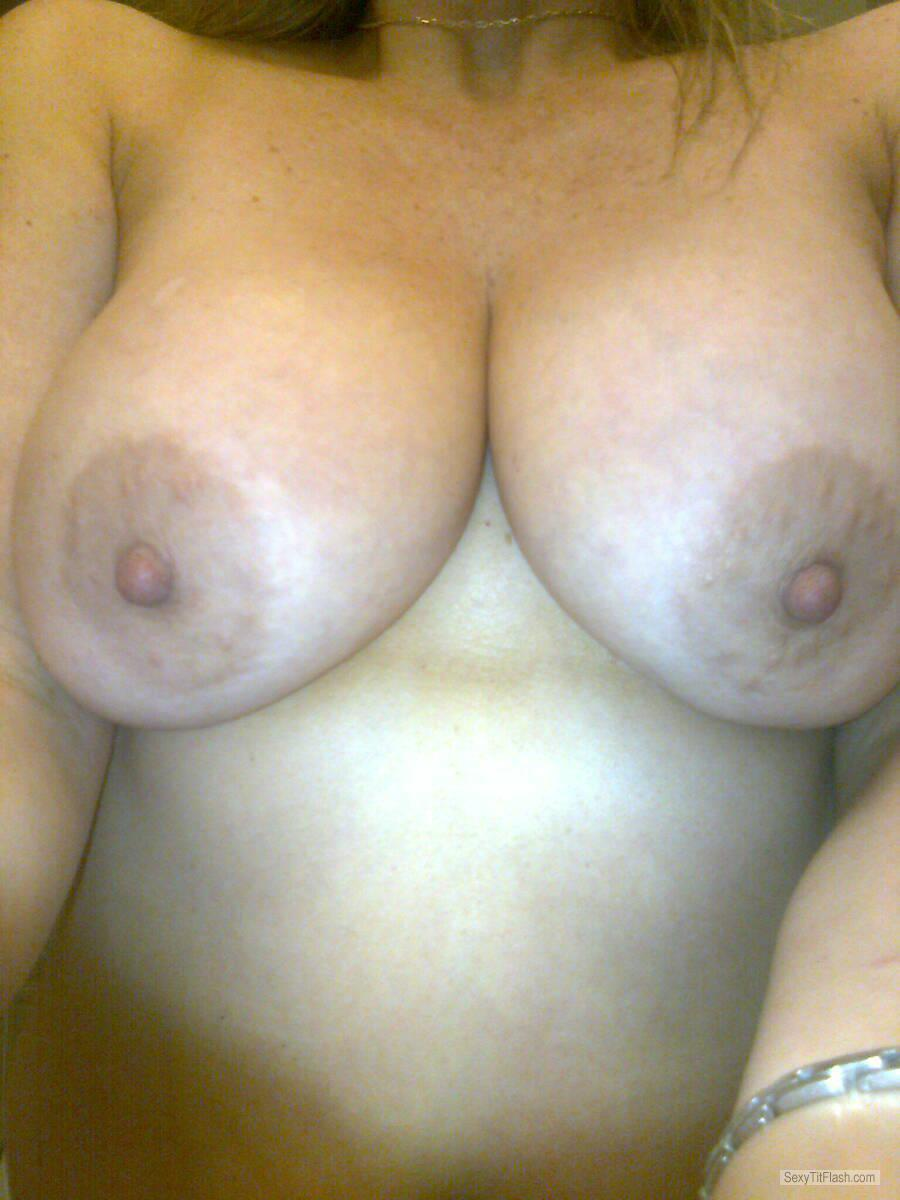 Tit Flash: My Big Tits (Selfie) - Cathystitties from Canada