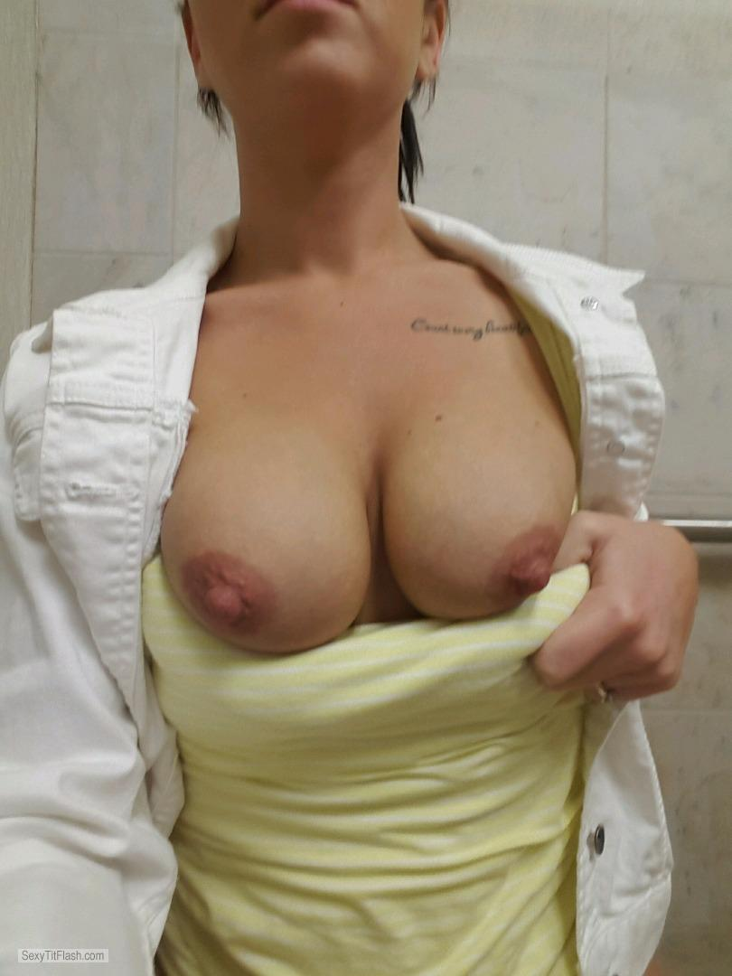 Tit Flash: My Big Tits - Girlfriend from United States