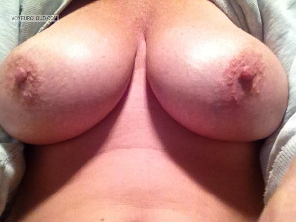 Big Tits Of My Wife Selfie by Mrs. Razorkx
