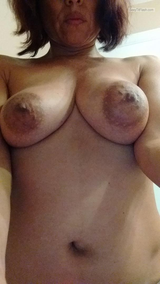 My Big Tits Selfie by Horny Housewife