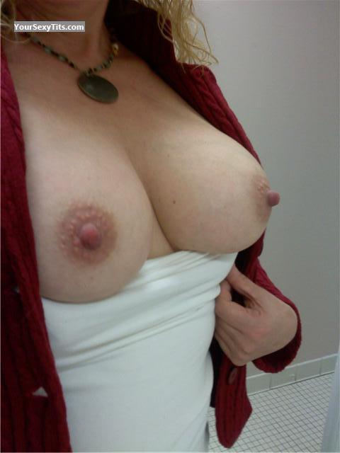 Tit Flash: My Big Tits - Maddy from United States