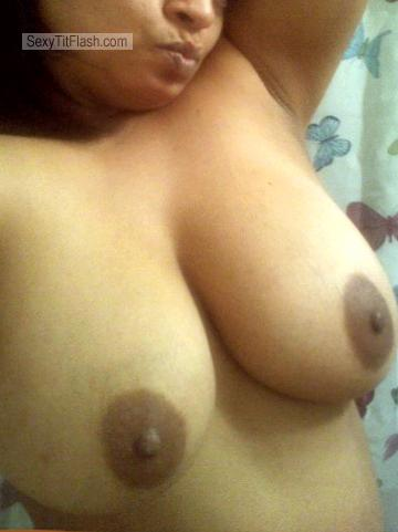 Tit Flash: My Big Tits (Selfie) - Topless MIRIAM from United States