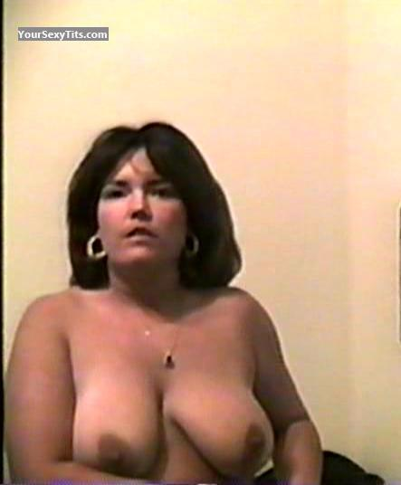 Tit Flash: My Big Tits (Selfie) - Topless Annie from United States
