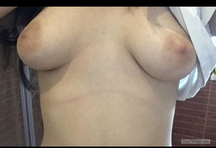 Tit Flash: My Big Tits - Gabb from United Kingdom