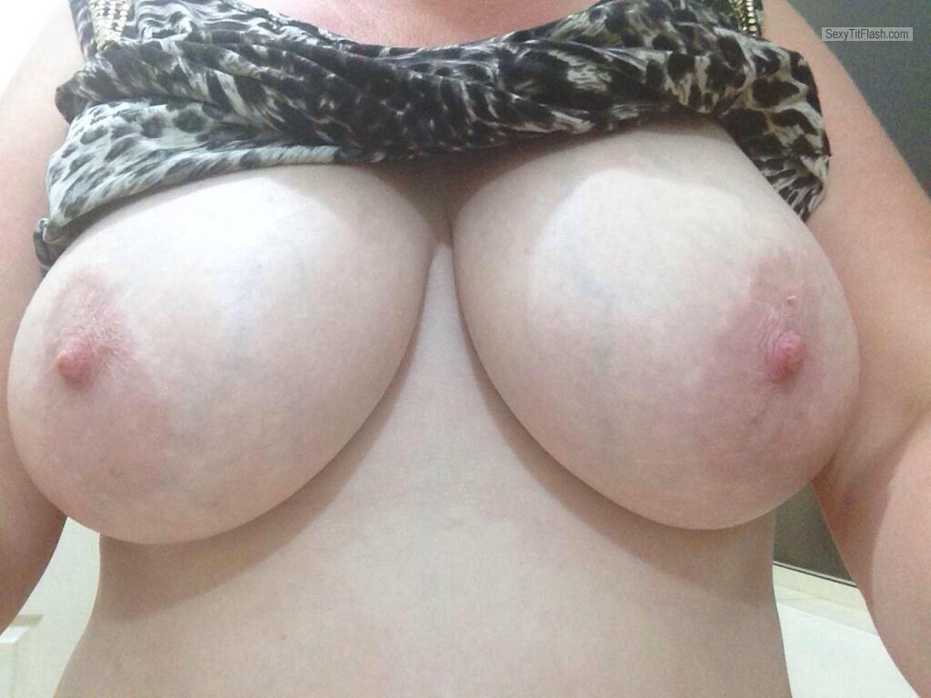 Big Tits Of My Wife Selfie by Titsout69