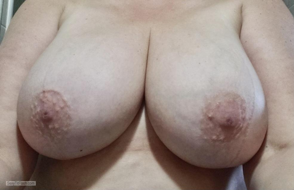 Tit Flash: My Big Tits (Selfie) - Jenny from United States