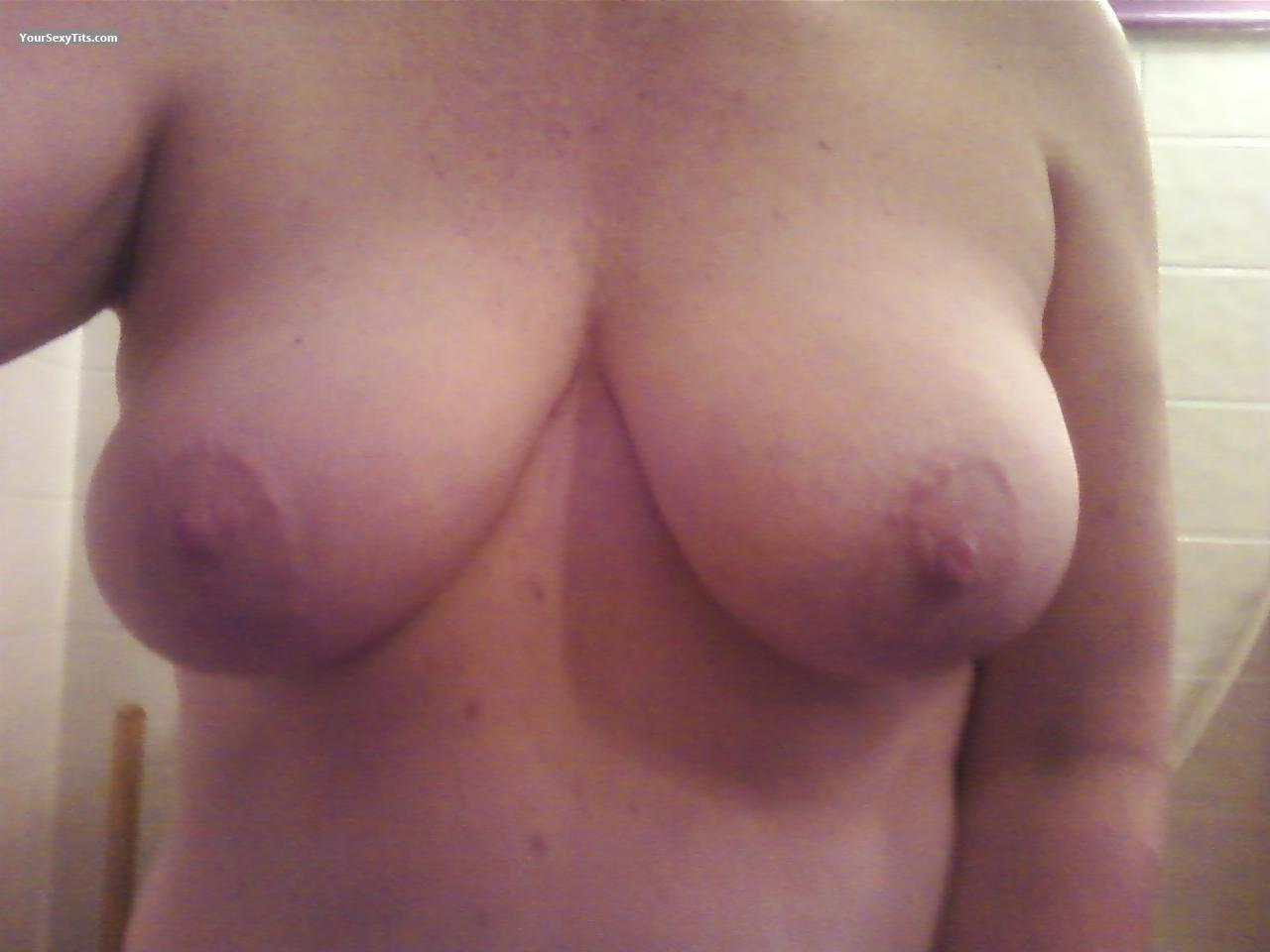 Big Tits Of A Friend Selfie by Tracy