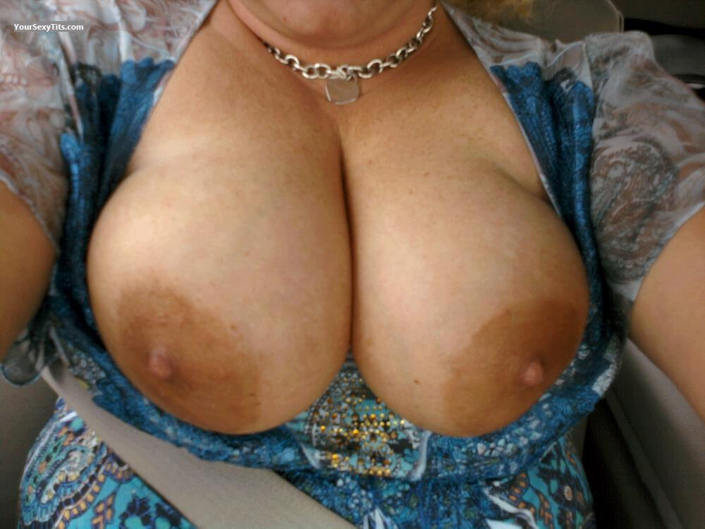 Big Tits Of My Wife Selfie by Brkntrxn