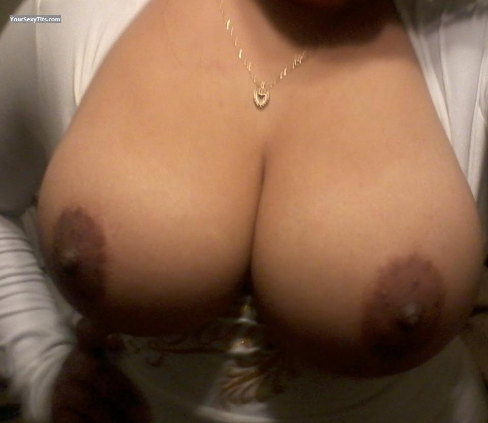 Tit Flash: Big Tits - Lala from United States