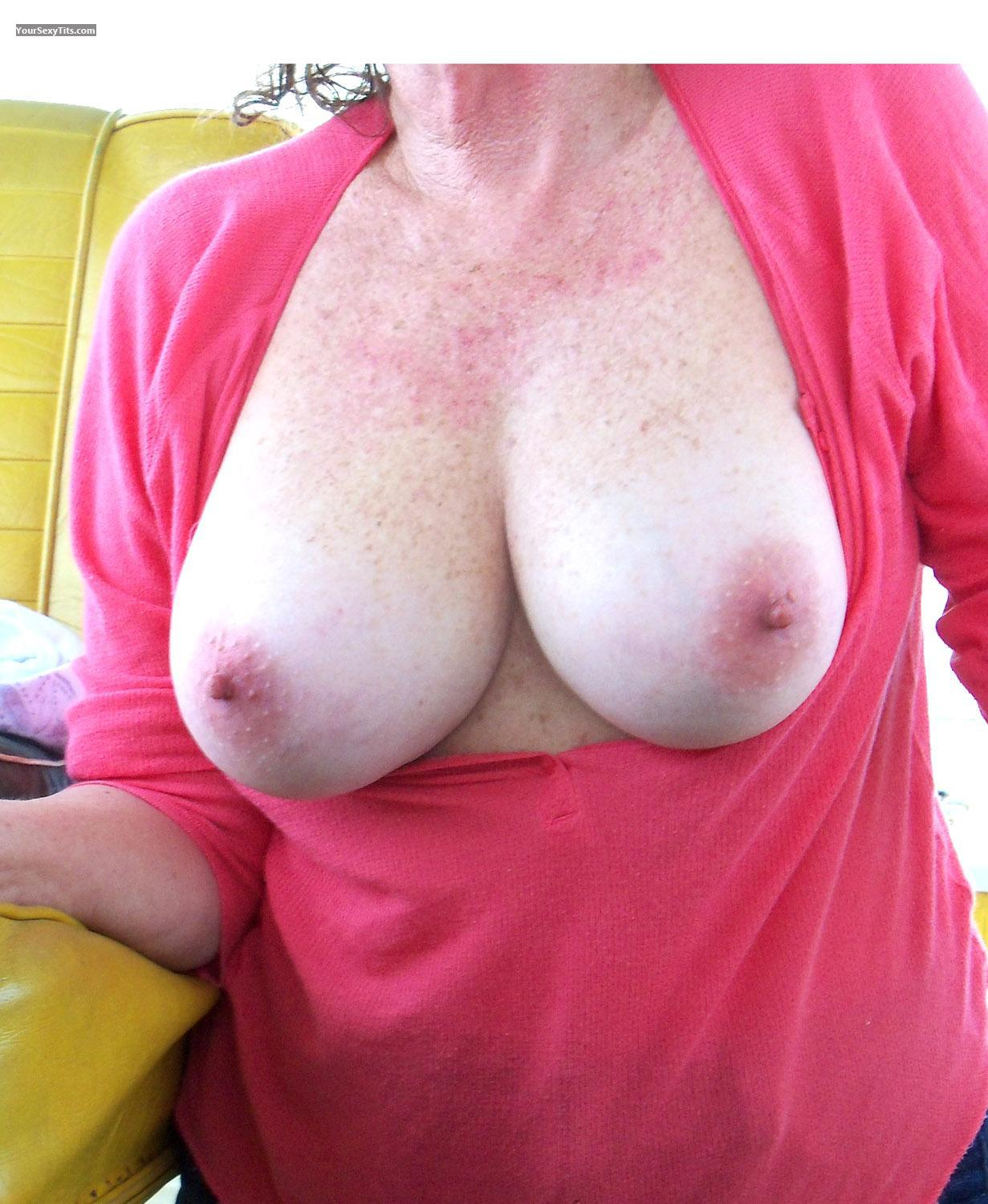 Tit Flash: Big Tits - JJ from United States