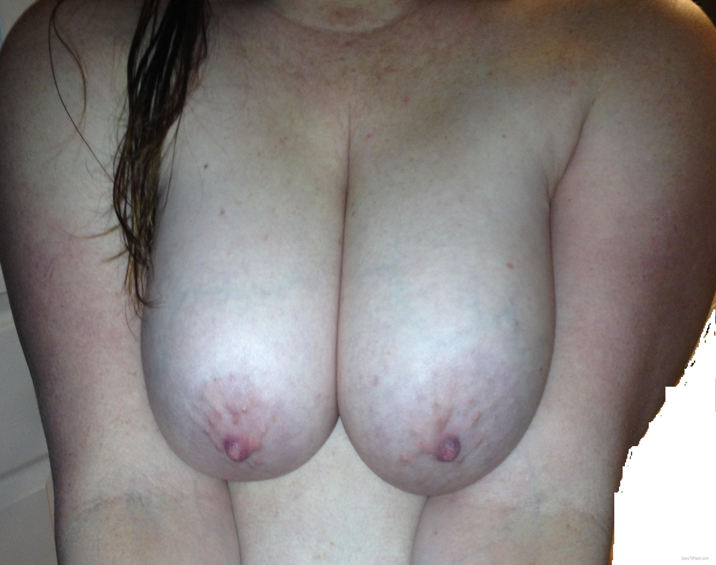 Big Tits Of My Wife Peek A Boo 2