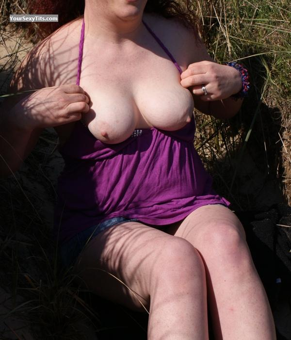 Tit Flash: Big Tits - Tatti from United Kingdom
