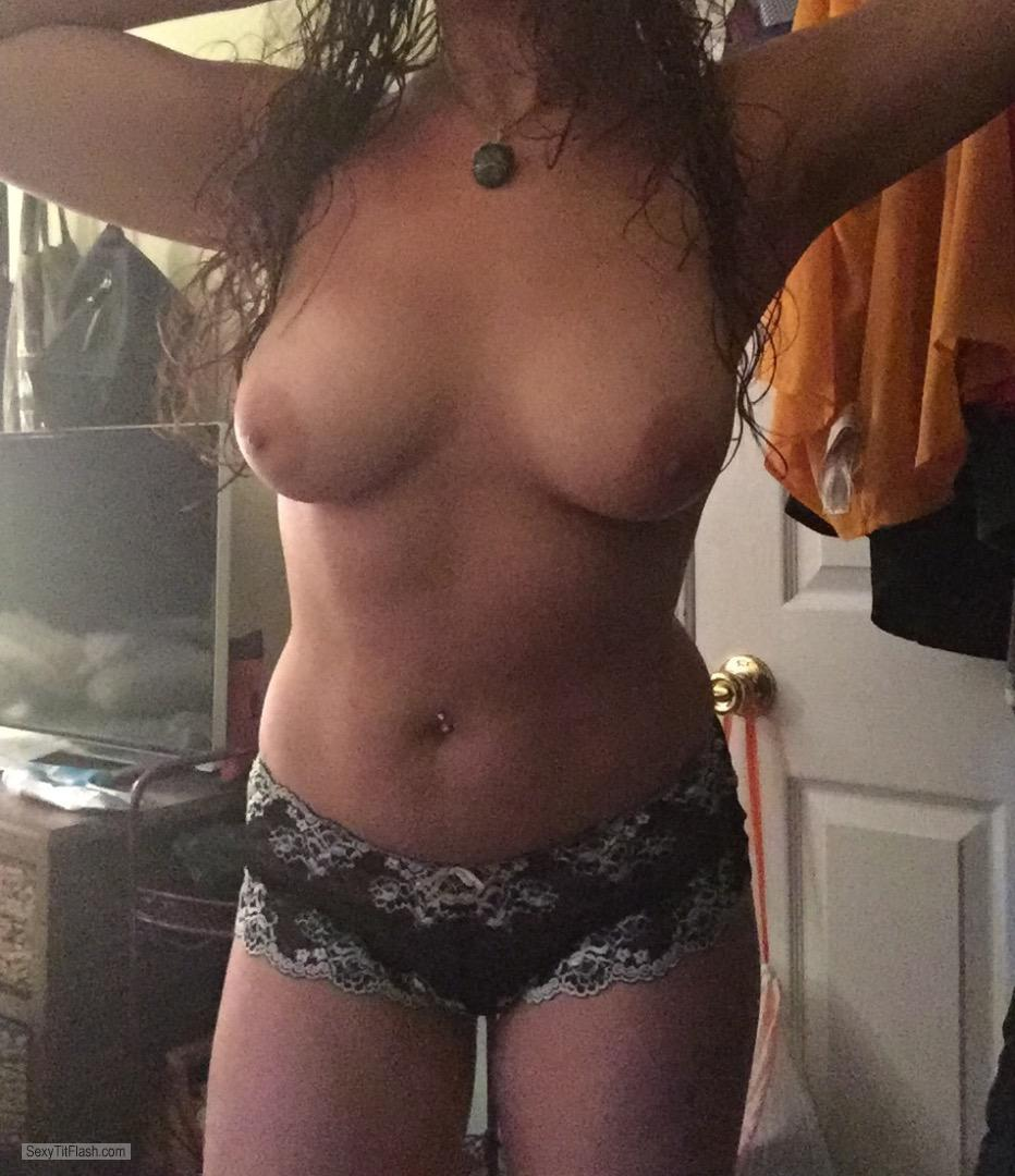 My Big Tits Topless Show Off