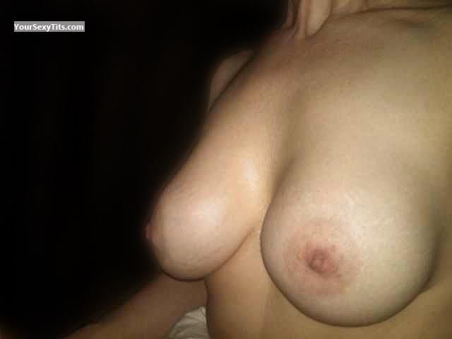 Tit Flash: My Big Tits (Selfie) - LaraLynn from United States