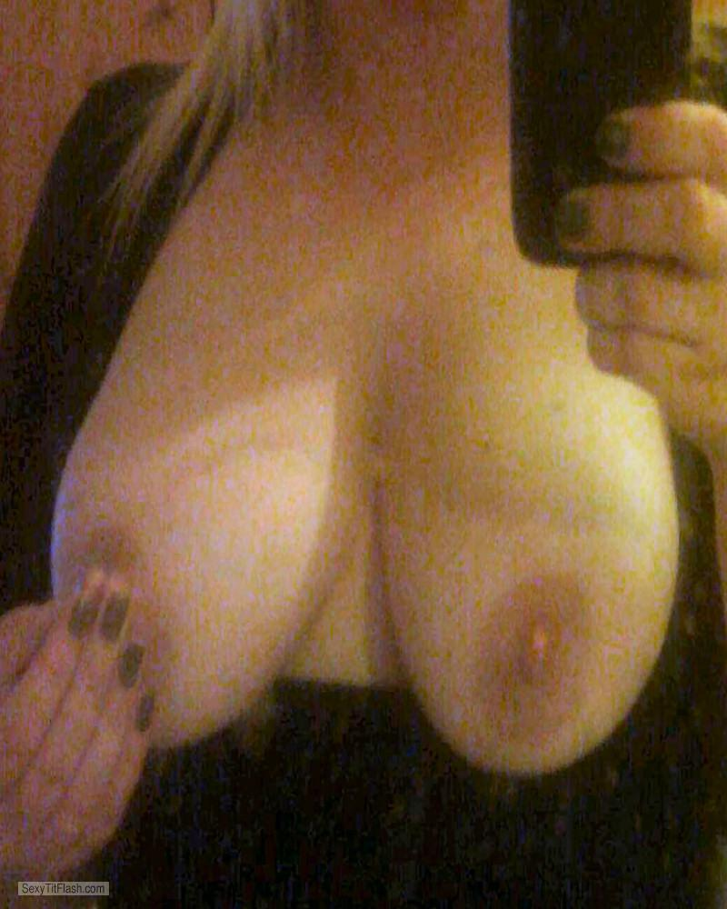 Tit Flash: My Big Tits (Selfie) - Wackas Tits from United Kingdom