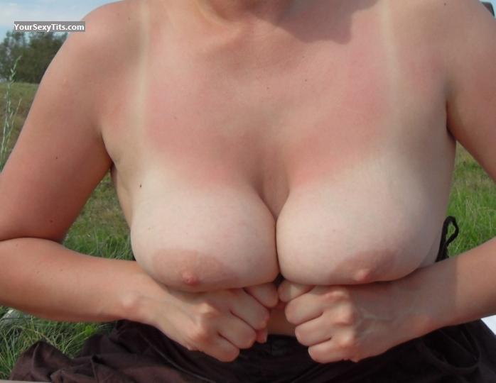 Tit Flash: Big Tits - Alkoholik from Poland