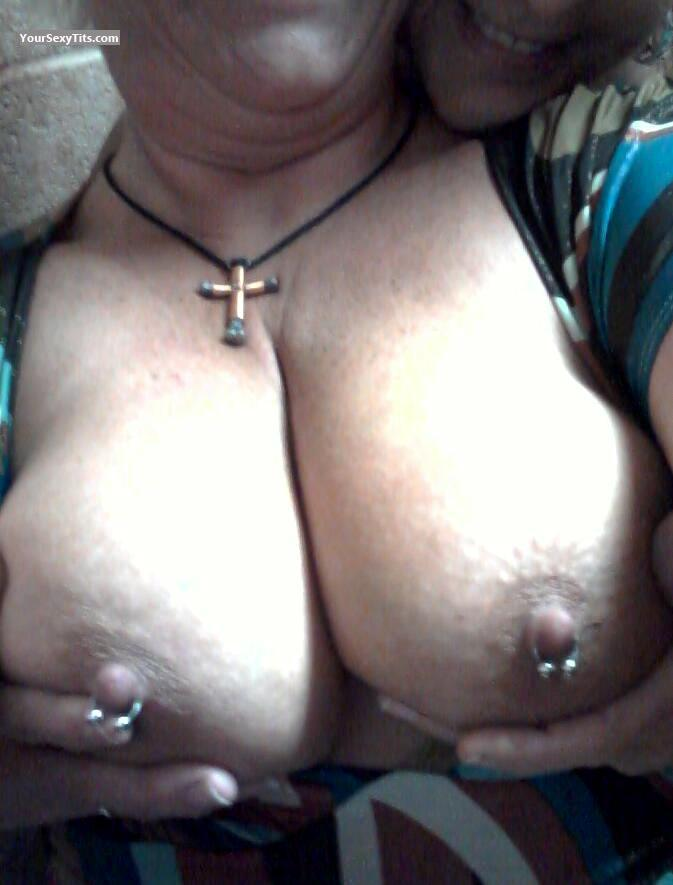 Tit Flash: My Big Tits - Missy from United States