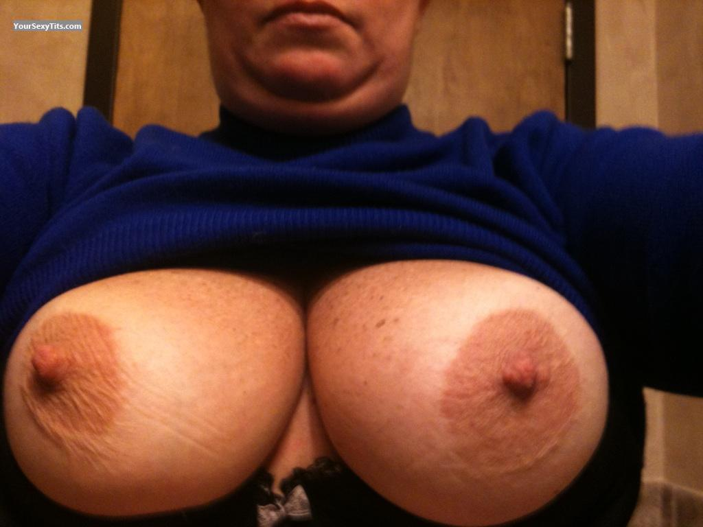Tit Flash: My Big Tits (Selfie) - Bug from United States
