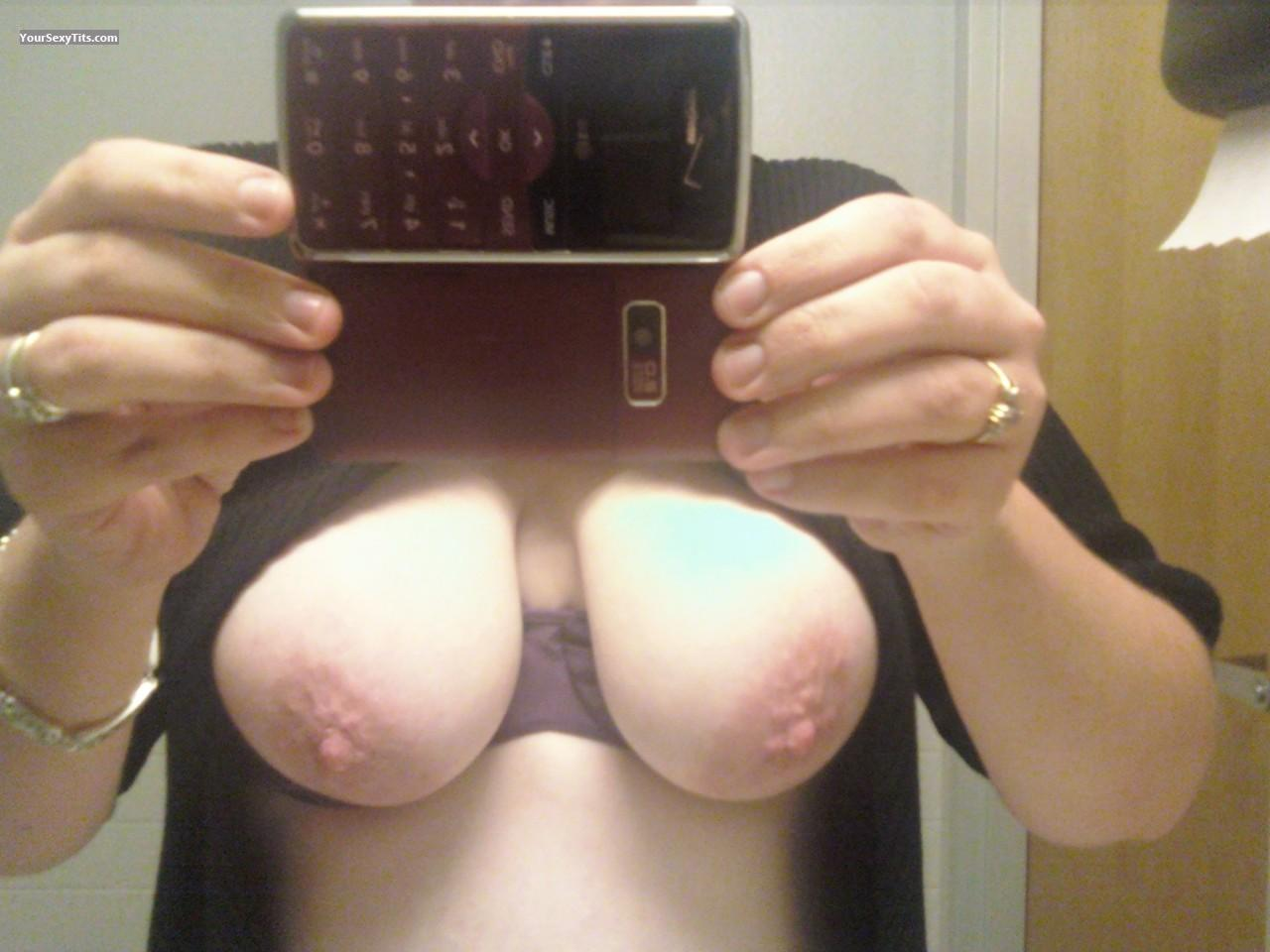 My Big Tits Selfie by D.J.