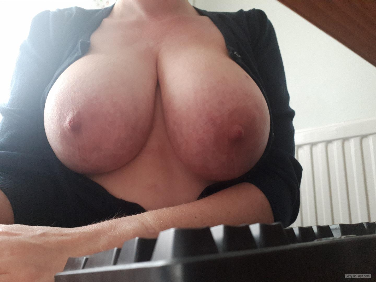 My Big Tits Selfie by Busty1975
