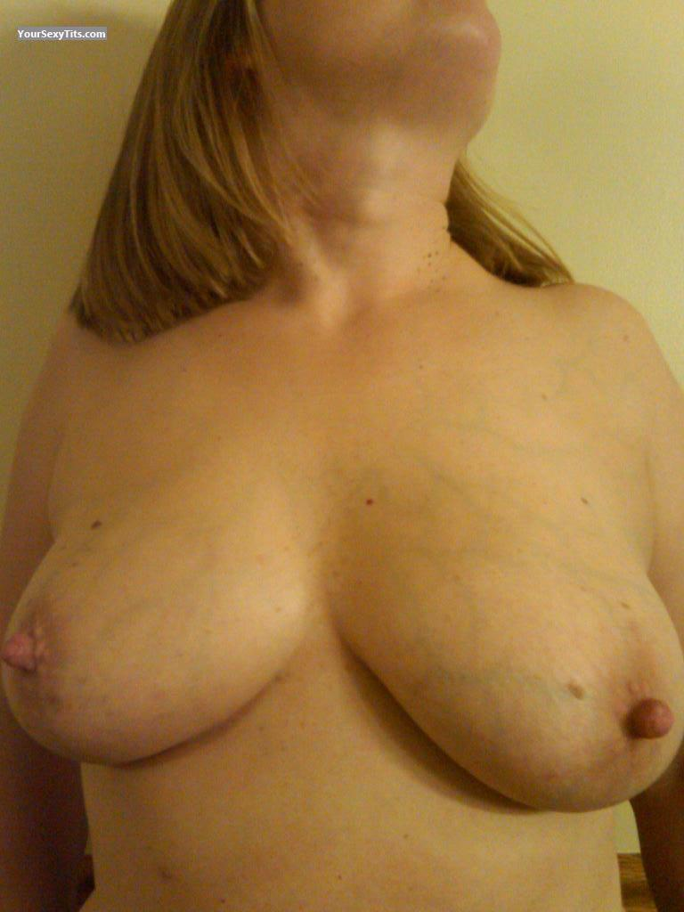 Tit Flash: Big Tits - Mrs. Shy from United States