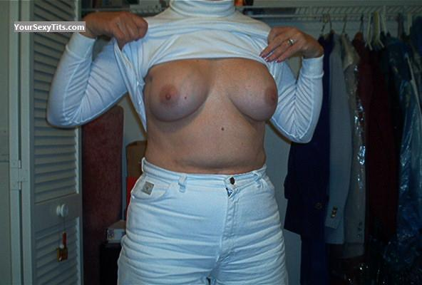 Tit Flash: Big Tits - Lover from United States