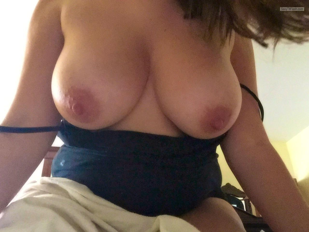 Tit Flash: My Big Tits (Selfie) - Pandora from United Kingdom