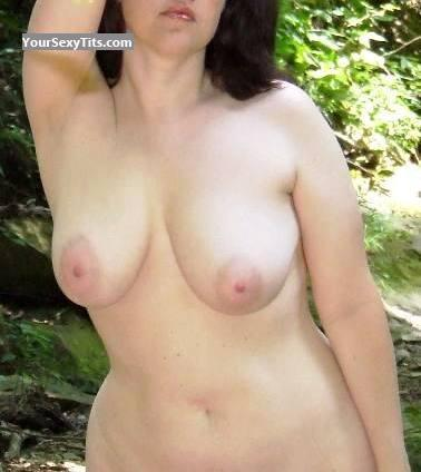 Tit Flash: Big Tits - Saturngirl from United States