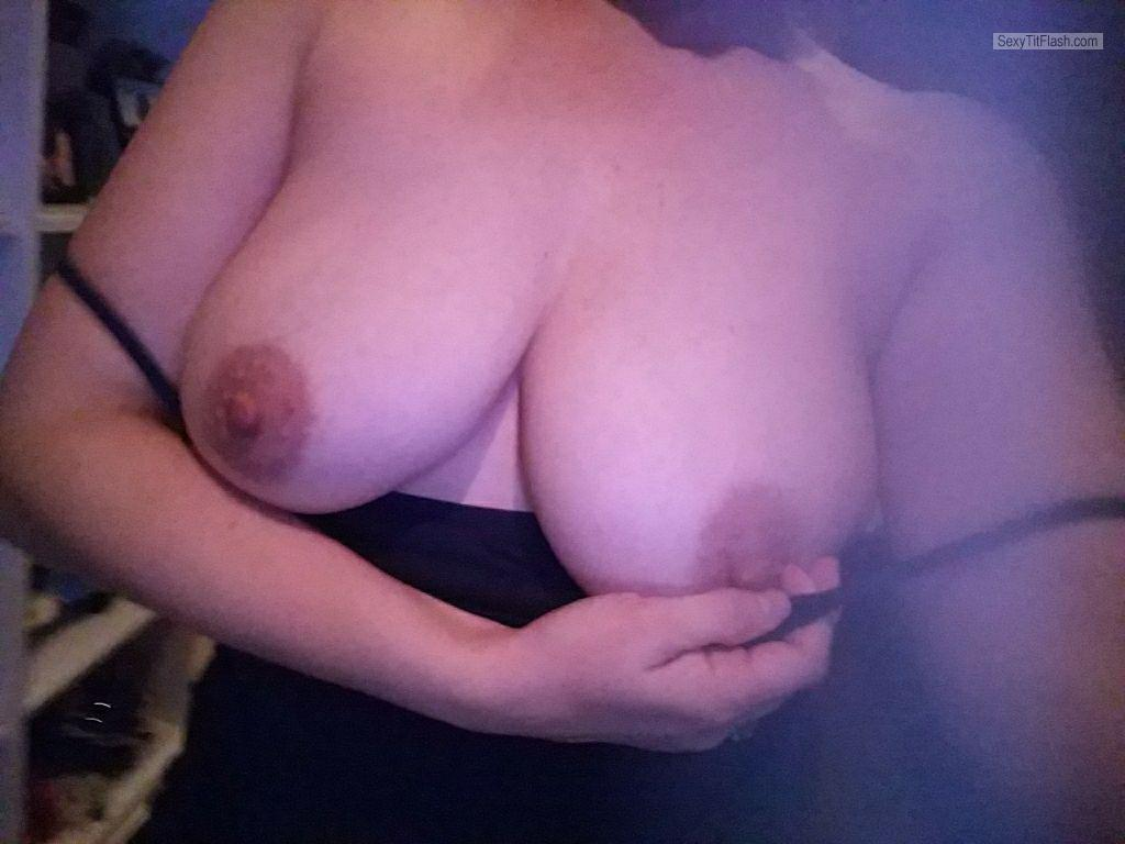 Tit Flash: My Big Tits - Cumwife from United States
