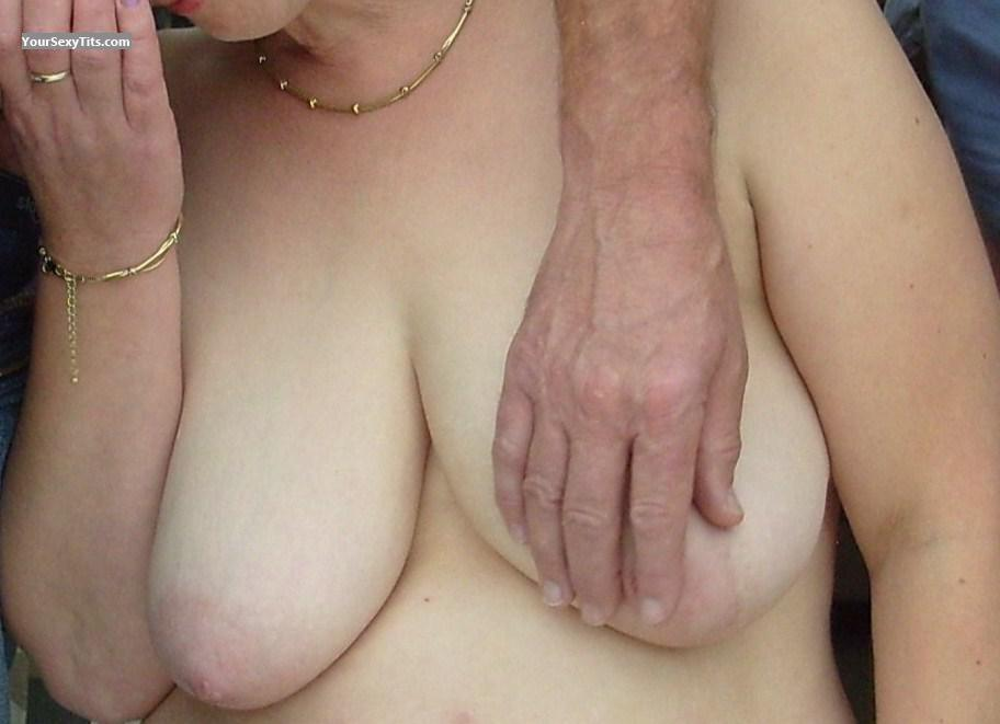 Tit Flash: My Friend's Big Tits - ???? from United States