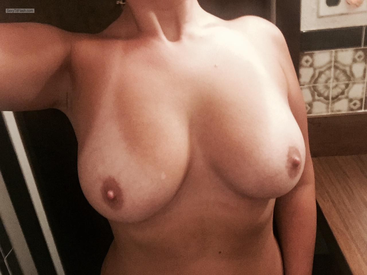 My Big Tits Selfie by Smiley Girl
