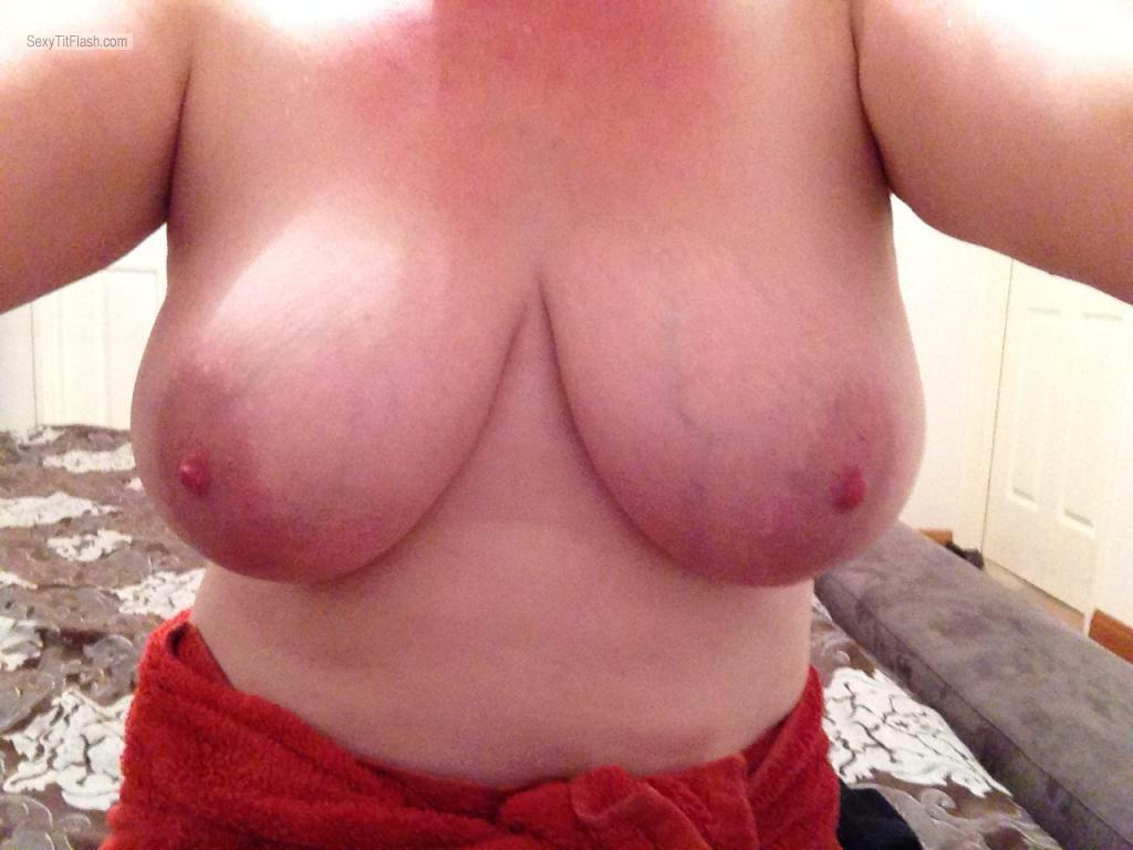Big Tits Of My Wife Selfie by Amanda