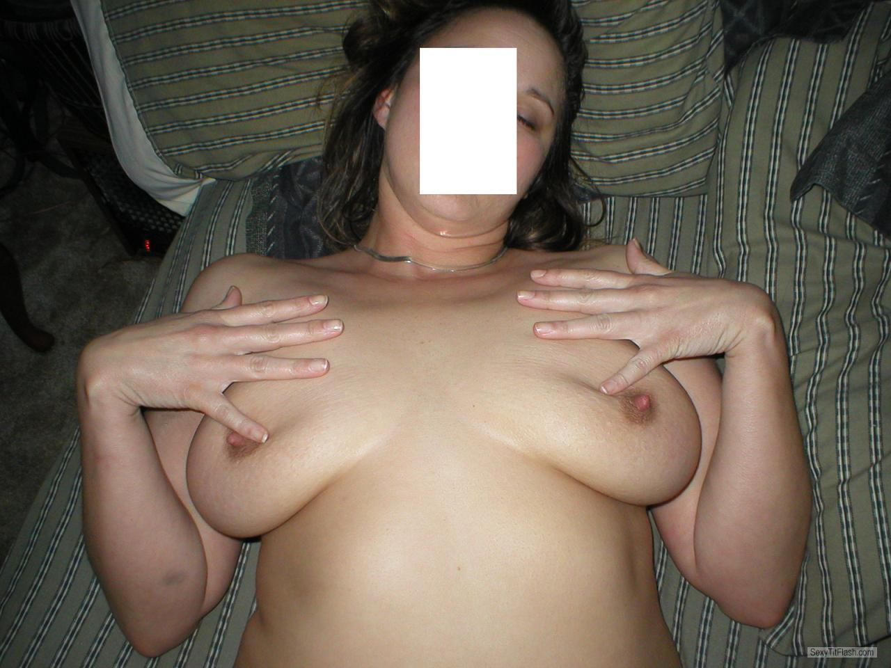 Tit Flash: My Big Tits - Naughty Mommy from United States