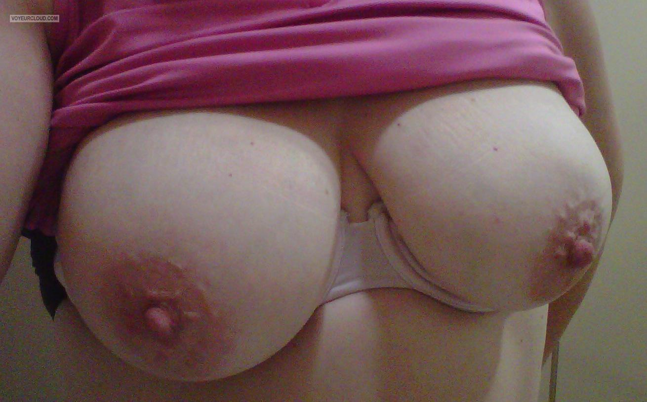 Tit Flash: My Big Tits (Selfie) - Mwgilf from United States